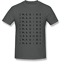 Sixtion Men's Imagine Dragons Zig Zag T-Shirt