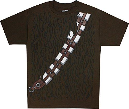 Star Wars I Am Chewbacca Kostüm Erwachsene braun T-Shirt (Star Shirt Wars Kostüme)