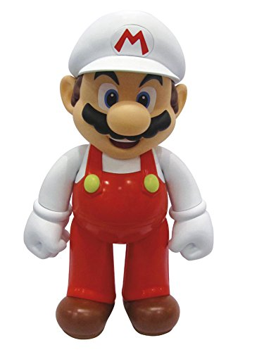 Supermario Fire Mario Figurine 50 Cm