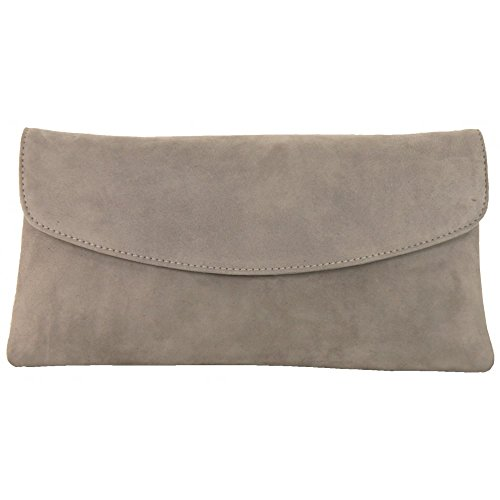 Clutch Bag Winema GREY SUEDE1