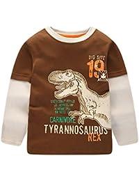 Kinderkleidung Set Sonnena Baby Kapuzenpullover Mantel Outfits Kleinkind Junge Mädchen Dinosaurier Hoodie Tops Strampelanzug Baumwolle Langarmshirt Strampelhöschen
