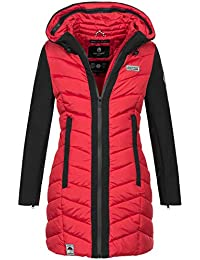f7d997e2c795ce Navahoo Damen Wintermantel Mantel Steppmantel warm Winter Jacke lang Stepp  B674