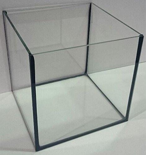 Aquarium Glasbecken Würfel 50x50x50 cm, quadrat, 125 Liter Becken …