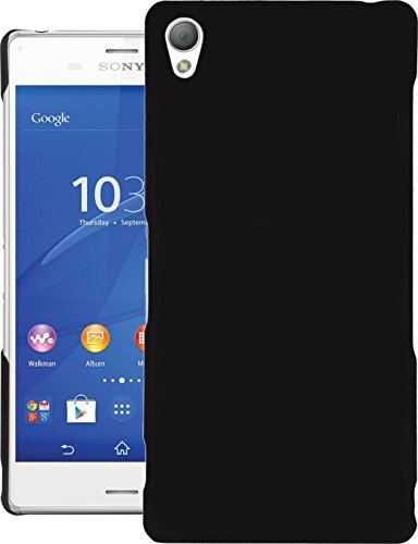 Cubix® Xperia Z3 D6633 Case, Super Slim Hard Back Cover for Sony Xperia Z3 D6633 Black  available at amazon for Rs.290