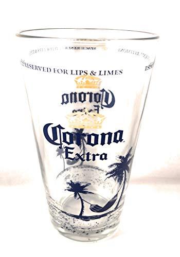 Corona Extra Hängematte Beach Pint Glas