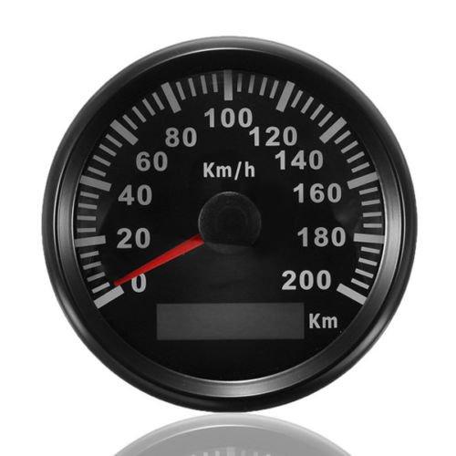 ELING KM GPS Velocímetro Odómetro 200KM/H Auto Marine