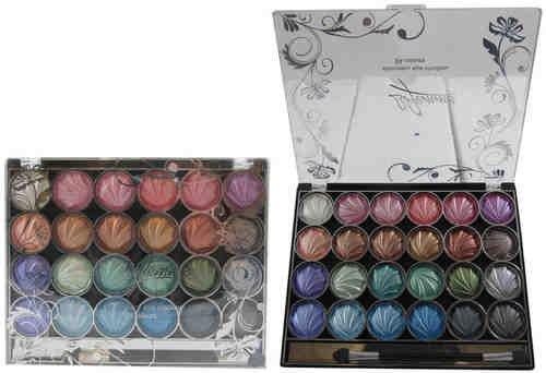 La Femme - LF2212 - Shimmery Eye Shadow 24 Colours - Tray A