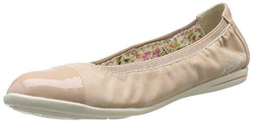 Dockers by Gerli 34FU214-673530 Damen Geschlossene Ballerinas, Beige (beige 530), 39