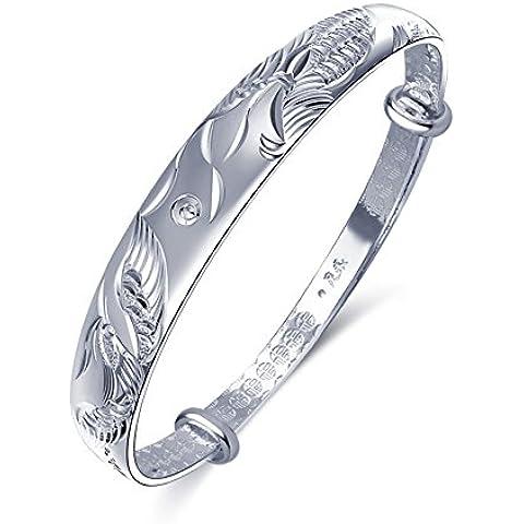 ZWX Braccialetto gioielli/ Bracciale in argento sterling/
