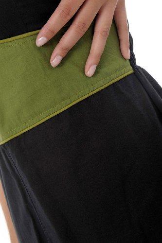 Fantazia Damen Kleid Schwarz