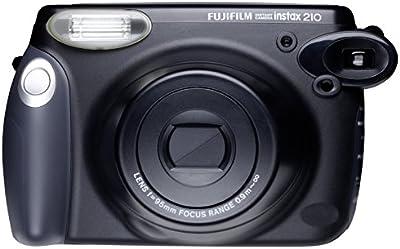 Fujifilm Instax 210 - Cámara analógica instantánea, negro