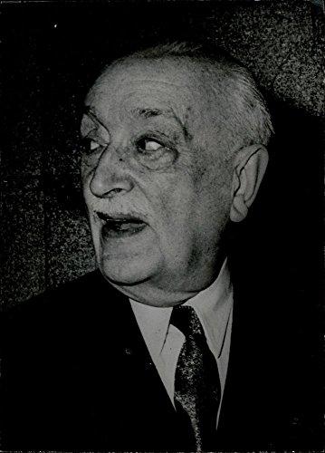 Vintage foto di ritratto di Wladimir D 'ormesson.