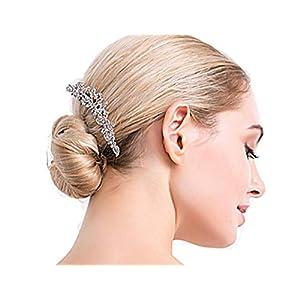 Damen Haarschmuck Haardekoration Haardeko Haarnadel Haarstecker Haargesteck Haarkamm Haarkämme Braut Hochzeit Schmuck Accessoires Perlen Kristallen Perlen Design Schmuck edel
