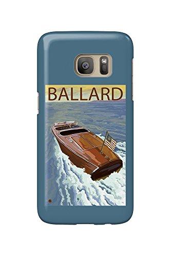 Ballard, Seattle, Washington - Chris Craft Boat (Galaxy S7 Cell Phone Case, Slim Barely There) (Ballard Seattle, Washington)