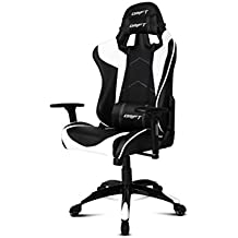 DRIFT DR300 - Silla (Asiento acolchado, Respaldo acolchado, Negro, Color blanco, Negro, Color blanco, Negro, Espuma, Poliuretano)