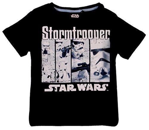 Star-Wars-Camiseta-de-manga-corta-para-nio