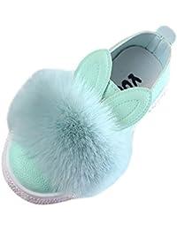 c965056f03c185 MCYs Kinder Baby Turnschuh Mädchen Häschen Schuhe Prinzessin Schuhe  auflernschuhe