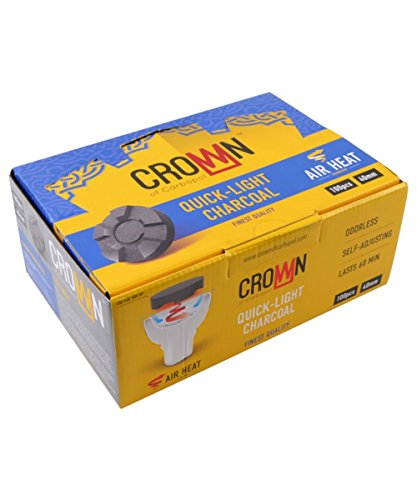 Carbopol Crown Kohle 40mm Airflow Packung