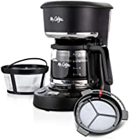 ماكينة تحضير القهوة، فلتر الماء، نايلون قابل لإعادة الاستخدام (أسود)
