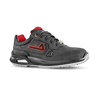 Aimont Men's Vigorex Teuton Safety Trainers, Black, 10 UK 44 EU