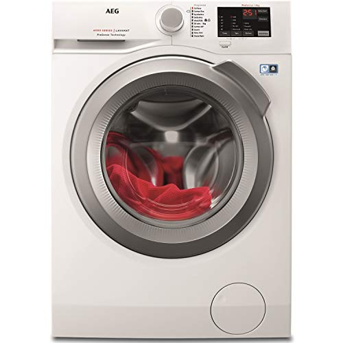 AEG L6FBI842N 8kg 1400rpm Freestanding Washing Machine - White