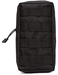 Black: Niceeshop(Tm) Tactical Pouches, Water-Resistant Multi-Purpose Molle Tactical Utility Gadget Gear Hanging...