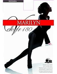 Marilyn blickdichte Feinstrumpfhose aus Microfaser ohne Höschenteil, 180 Denier