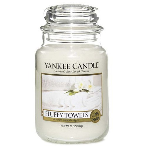 Yankee Candle 1205376E Fluffy Towels Grosses Jar