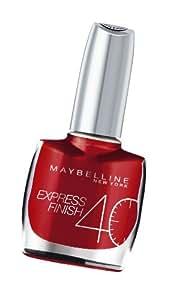"Vernis à Ongles Express Finish 40"" Gemey Maybelline - 30/505L Cerise"