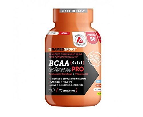 BCAA 4:1:1 EXTREME PRO - Named - Branched Chain Amino Acids Pure Ajinomoto Quality®
