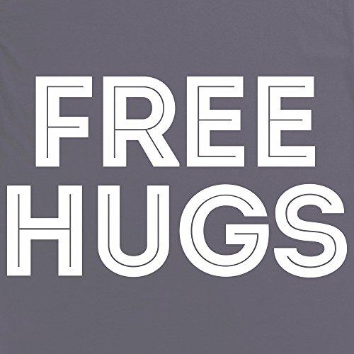 Free Hugs T-Shirt, Herren Anthrazit