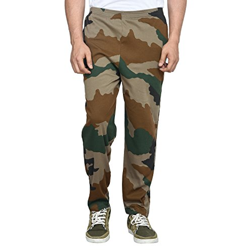 Zacharias Men's Camouflage Print Track Pant (Large)  available at amazon for Rs.599