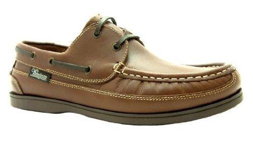 Ubershoes , Chaussures bateau pour homme multicouleur Brown/Navy Marron - marron