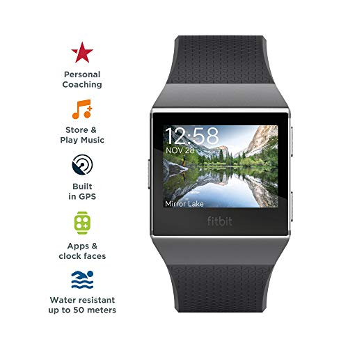 41RB44EWSdL. SS500  - Fitbit Ionic Health & Fitness Smartwatch (GPS) with Heart Rate, Swim Tracking & Music