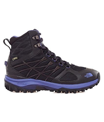 The North Face W Ultra Extreme Ii Gtx, Chaussures de Randonnée Femme Noir/bleu