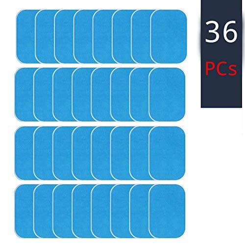 """ELETTRODI ELETTROSTIMOLATORE GEL / ELETTRODI ADESIVI PER ELETTROSTIMOLATORE /GEL PADS UNIVERSALI/TRAINING PAD/Gel elettrostimolatore muscolare/Gel conduttore elettrostimolazione/EMS CUSCINO GEL/36PCS\"""""""
