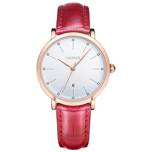 2015-lrew Damen Casual Quarz Handgelenk Uhren Frauen Luxus Business Wasserdicht Gurt Kleid Armbanduhren (Papier-kalender 2015)