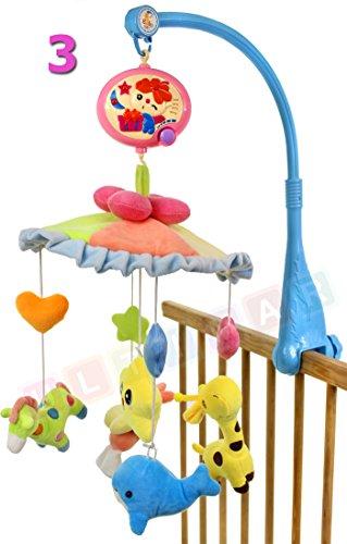 Ultimar Karussell- Projektor Baby mit Musik Modell 3 (Karussell Kinderbett)