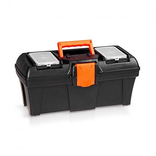 Kunststoff Werkzeugkoffer 40 cm - ORANGE LINE -