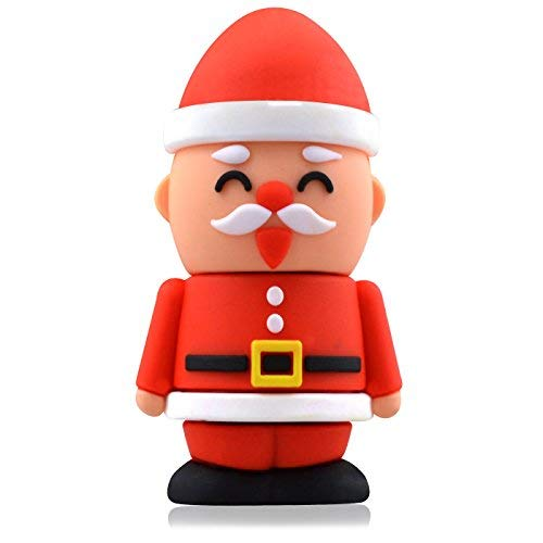 818-Shop No4400030016 USB-Sticks (16 GB) Nikolaus Weihnachten Nussknacker rot