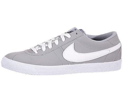 Nike , Herren Schnürhalbschuhe Nero-Bianco