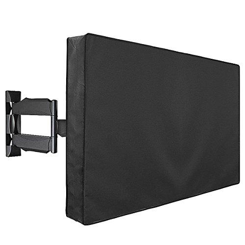 TV Abdeckung. Fernseher Abdeckung für Außen Outdoor - und Innenanwendung, Staub und Wasserfest TV Schutz - für 36