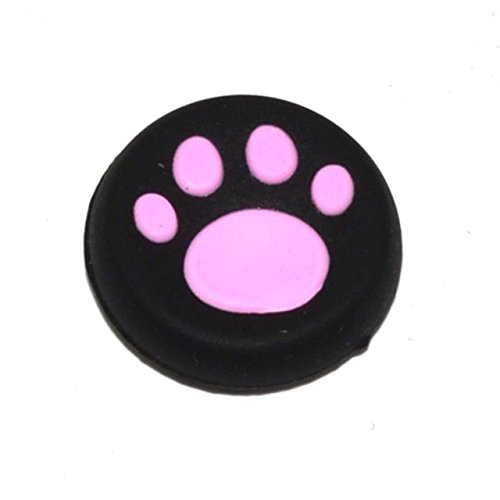 Traders Pink : 10pcs Rubber Silicone Cap Thumbstick Analog Cover Case Skin Joystick Grip Thumb Stick for PS3 PS4 Xbox One Xbox 360 Controller