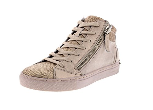 Crime London 25320S17 JAVA MID - Espadrilles Chaussures Pour Femmes à lacets Beige