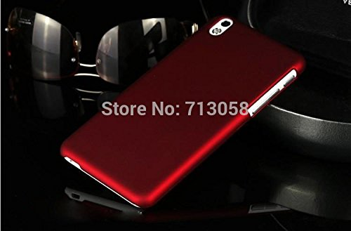 PREMIUM IMPORTED HARD BACK RUBBERIZED CASE COVER MATTE FINISH SCRATCH PROTECTOR FOR HTC DESIRE 816 / 816G BY TECHNO TRENDZ - COLOR WINE RED