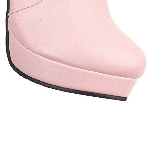 BalaMasa Abl10633, Sandales Compensées Femme Rose