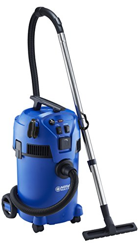 Nilfisk Multi ll 30T Wet and Dry Vacuum Cleaner, 1400W input power, Blue