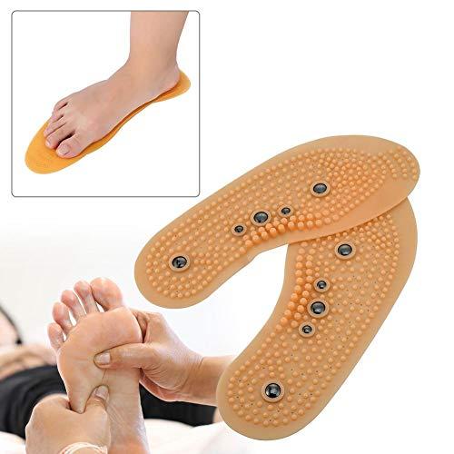 Massage-Vorlagen, Magnetfeldtherapie-Massage-Einlegesohle, Akupressur-Vorlagen zur Muskelentspannung und Durchblutungsförderung, Gesundheitsmassage-Vorlagen(35-40(CN))