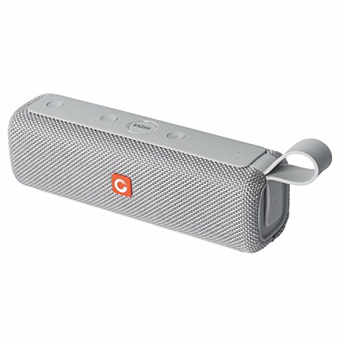 DOSS E-go II Portable Wireless Bluetooth Speaker with Loud Stero Sound, Enhanced Bass, IPX6 Waterproof, Built-in Mic, 6W×2 Drivers up to 12 Hour Playtime