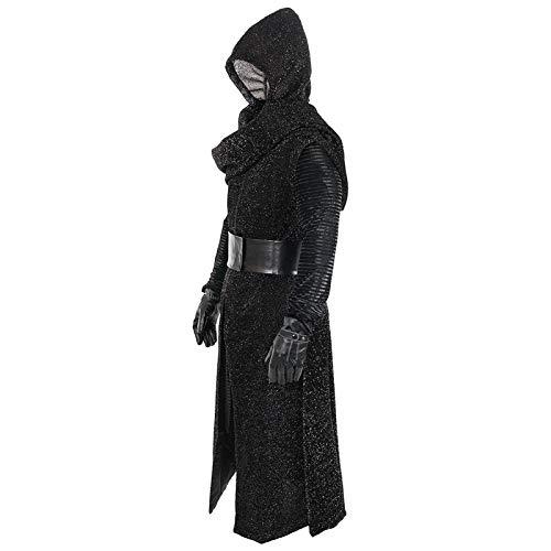 WERTYUH Star Wars Kylo Ren Cosplay Kostüm Film Force Manifesm Awakening (Star Wars Cosplay Kostüm Männer)